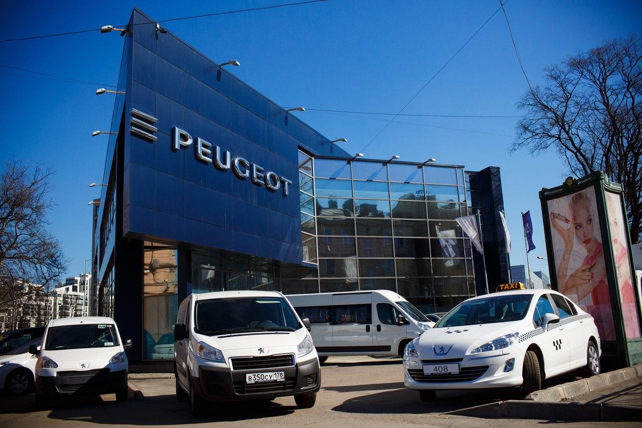 Коммерческая техника Peugeot в «Аларм-Моторс Петроградский»