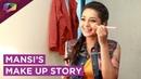 Mansi Srivastav Aka Bhavya Shows Her Quick Touch Up Shares Her Make Up Favourites