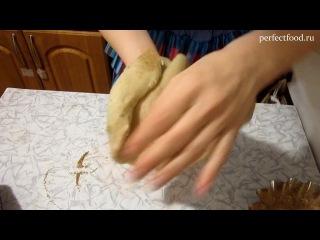 Мандариновый пирог - рецепт постный