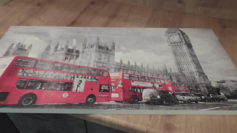 Мебельный фасад с фотопечатью Лондонский автобус