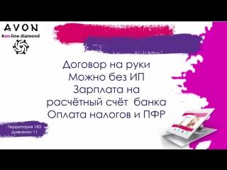 Маркетинг план Эйвон (Avon) 2018