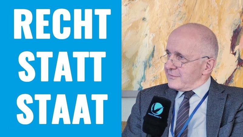 Recht statt Staat Prof Dr David Dürr im Interview