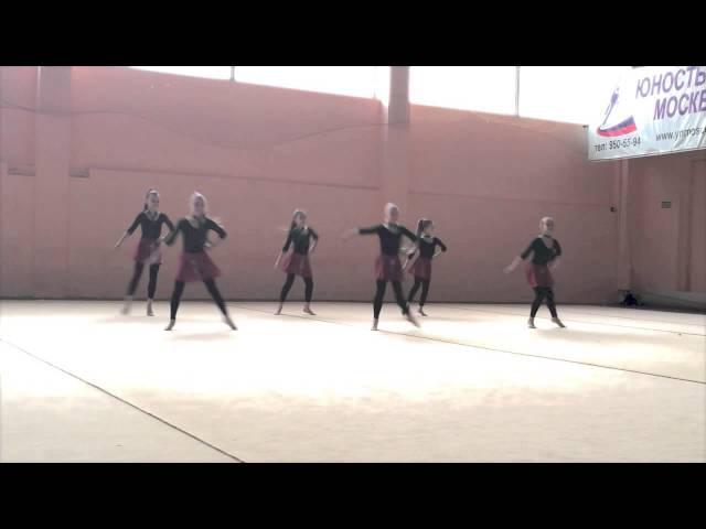 Ирландский танец, показательное выступление, 07.03.2014