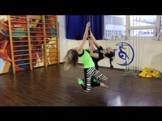 Pole dance Новосибирск. Подвесной пилон (тренировки 2018)