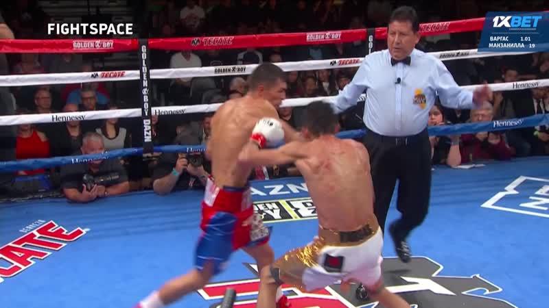 Rey Vargas VS. Franklin Manzanilla highlight