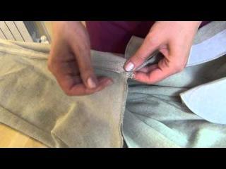 Как сшить мужские льняные брюки 2