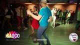 Rafail Galiev and Olesya Petrova Salsa Dancing in Mambolove, Monday 11.06.2018