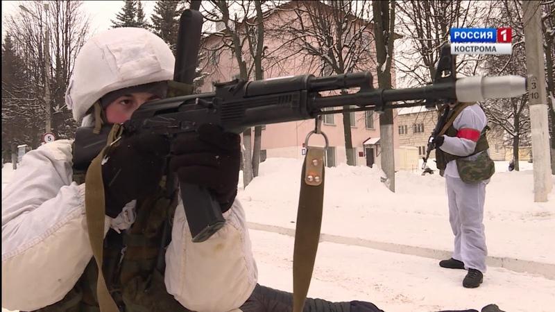 Костромские десантники провели масштабные антитеррористические учения