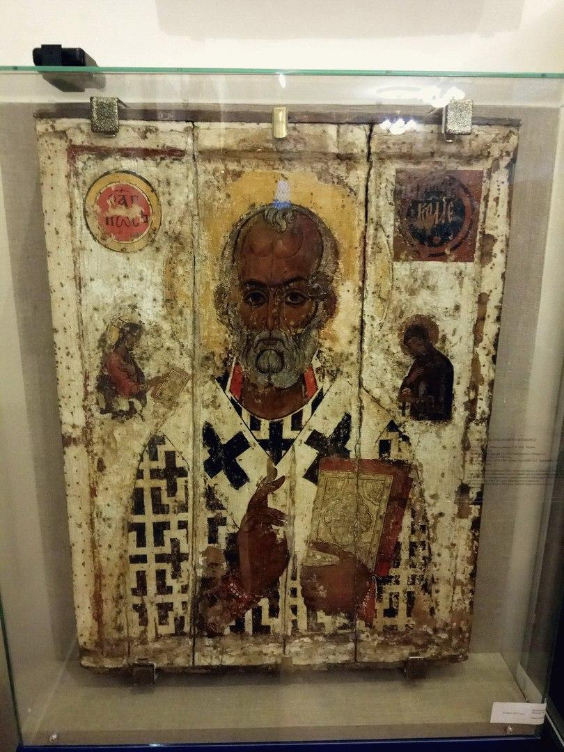 Икона святого Николая работала какое-то время чудотворной