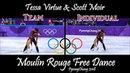 Tessa Virtue Scott Moir - Moulin Rouge (Team Individual Events) | PyeongChang 2018