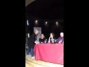 Пресс конференция французской актрисы Фанни Ардан XXVIII Международный кинофестиваль Послание к человеку