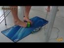 Самая быстрая сборка Кубика Рубика НОГОЙ ✦ Fastest assembly of the Rubiks Cube leg ✦ LUCKY