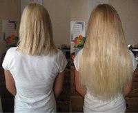 Ленточное наращивание Анжелохаир Южно-русские волосы 80 лент Длина 45 см Цвета 140 и 20 Цена: 10 800 р.