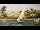Oil Painting Landscape from Egypt Aswan By Yasser Fayad
