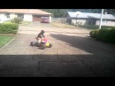 Power wheels drifting. 3 yr old drifting his quad on a 4s Lipo