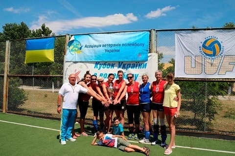 Команда волейболисток «Горводоканала» стала лучшей на Кубке Украины