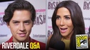 RIVERDALE Cast Play International Slang Answer Fan Questions at Comic Con 2018