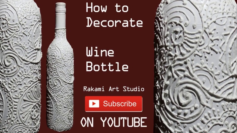 Wine Bottle Decoration