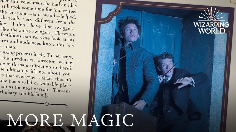 The Archive of Magic The Film Wizardry of Fantastic Beasts The Crimes of Grindelwald
