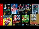 Nintendo Switch Online - Интерфейс и точки приостановки