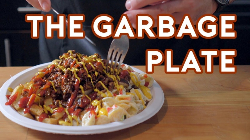 Binging with Babish The Garbage Plate from The Place Beyond The Pines (sort of)