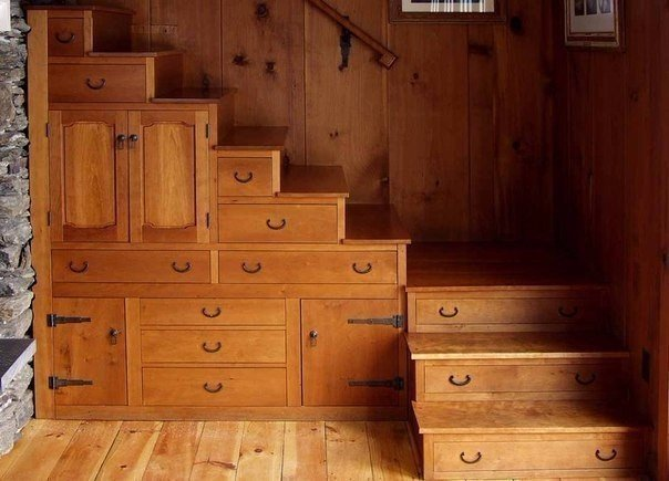 Многофункциональная лестница (1 фото)