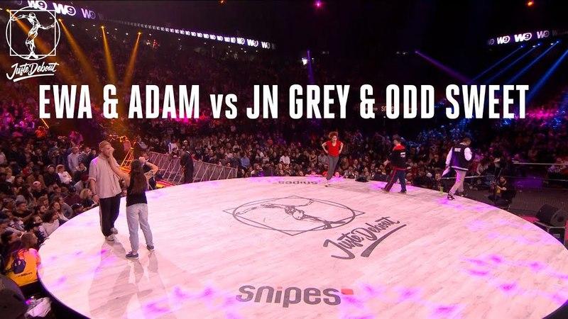 House dance battle : Ewa Adam vs Jn Grey Odd Sweet | Danceproject.info