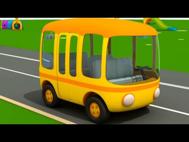 Песенка про автобус ПесенкиДляДетей на английском языке