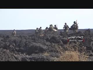 خاص: مشاهد من سيطرة الجيش السوري على منطقة تلول الصفا بريف دمشق الجنوبي الشرقي