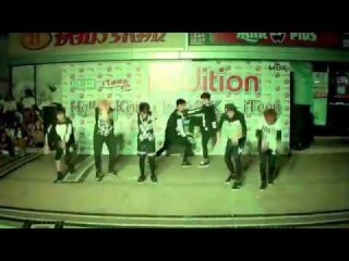 140328 BRUTE cover GOT7 - Intro   Girls Girls Girls @Hello! Korea 2014 (Audition)
