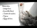 Cuello 4 trenzas / 4 Braided Cowl / Español