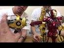 [ToysTV Eng] Hot Toys MMS462D22: Iron Man 2 - Iron Man Mark IV w/ Suit-Up Gantry 1/6