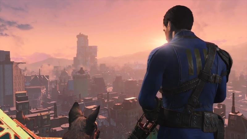 Fallout 4 16 Битва с роботами и зачистка форта от мутантов