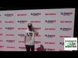 Zac Efron at The Baywatch SlowMo Marathon at Microsoft Theatre in Los Angeles