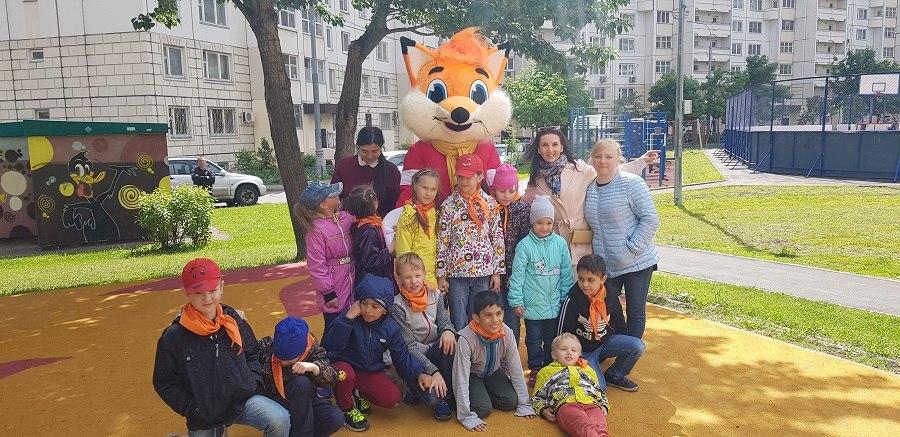 Детский праздник двора прошел на Псковской