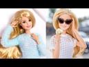 😍5 Прически Барби Куклы❤Трансформация макияжа куклы Барби😍
