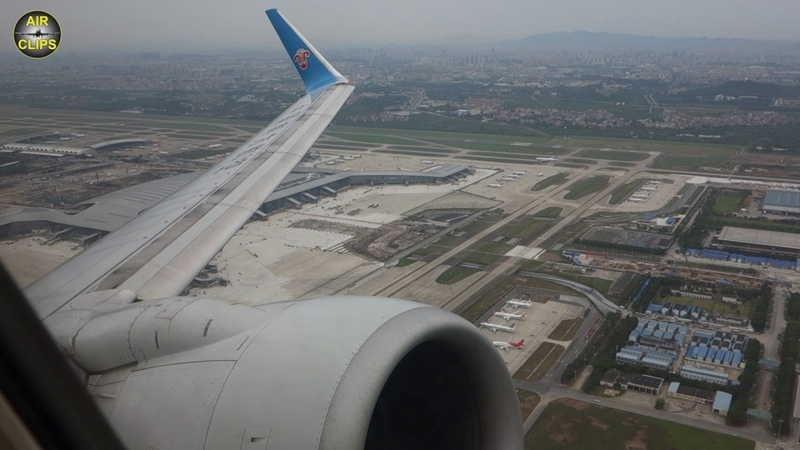 China Southern Airlines Boeing 737-700 Powerful Guangzhou Takeoff, GREAT VIEWS! [AirClips]