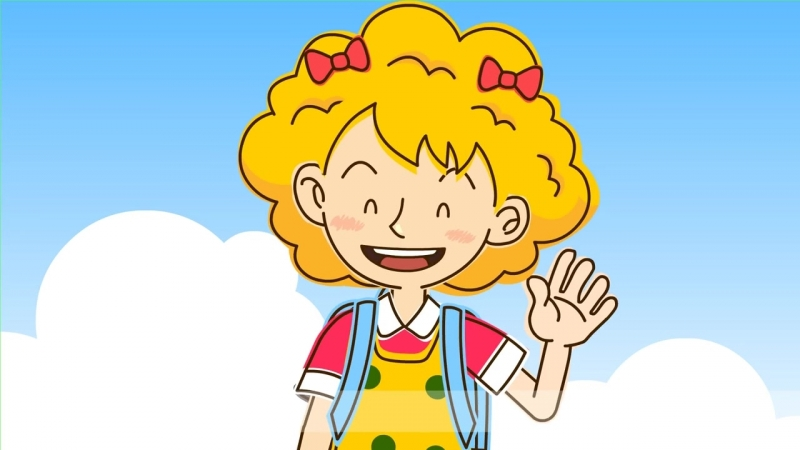 [Past tense] How was your summer vacation It was great. - Easy Dialogue for Kids