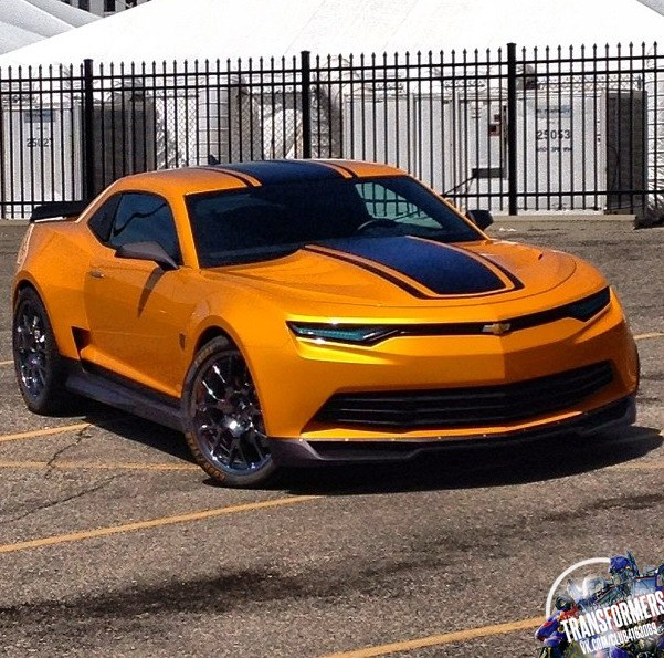 transformers 4 bumblebee camaro spotted on set pics and. Cars Review. Best American Auto & Cars Review