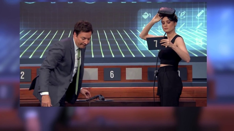 Капитан МАРВЕЛ (Бри Ларсон) против Марлона Уайанса. Битва на VR шлемах