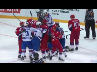 Gagarin Cup. «Lokomotiv» — SKA 1:2 OT. (Score in series 0:3). Highlights