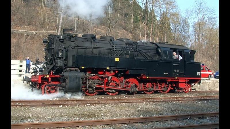 Lokporträt Dampflok 95 027