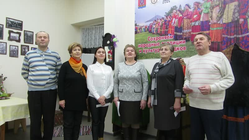 Поздравление Дома дружбы народов с пятилетием от Сыктывкарского представительства МОД «Русь Печорская»