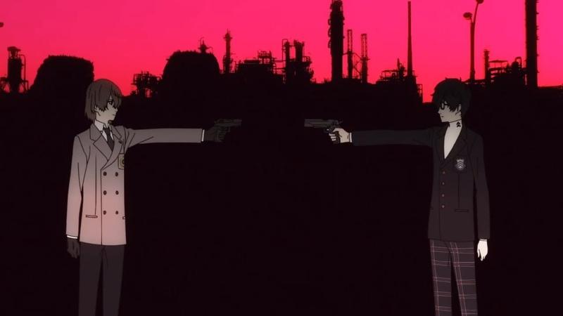 Persona 5 the Animation『 ペルソナ5』OP Opening 2 - Dark Sun... (V2)