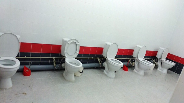 Не надо стесняться: общественный туалет  на вокзале в Шахунье! 😂