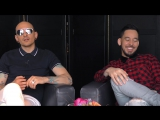 Linkin Park interview - Chester and Mike (part 2)