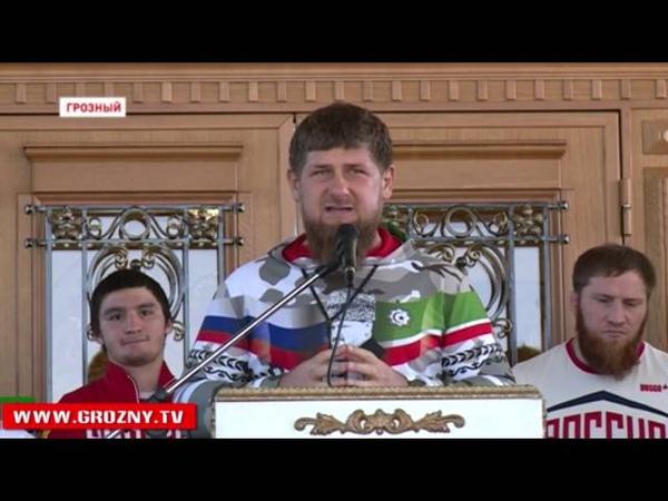 Рамзан Кадыров устроил торжественное мероприятие для участников Олимпиады 2016 из Чечни