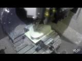 Обработка 3+2 на станке Haas UMC750.