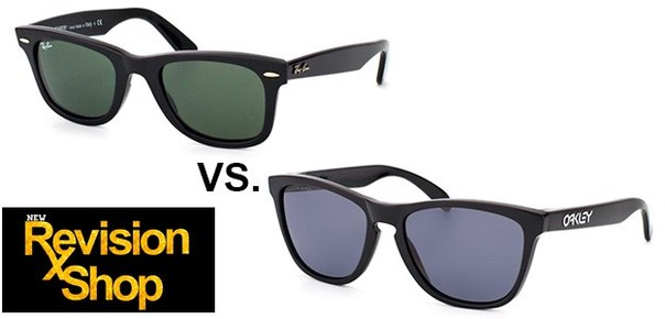 oakley holbrook vs ray bans wayfarer