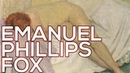 Emanuel Phillips Fox A collection of 76 paintings HD